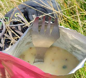 Суп-пюре з білими грибами
