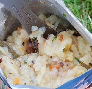 Картопля з м'ясом та овочами