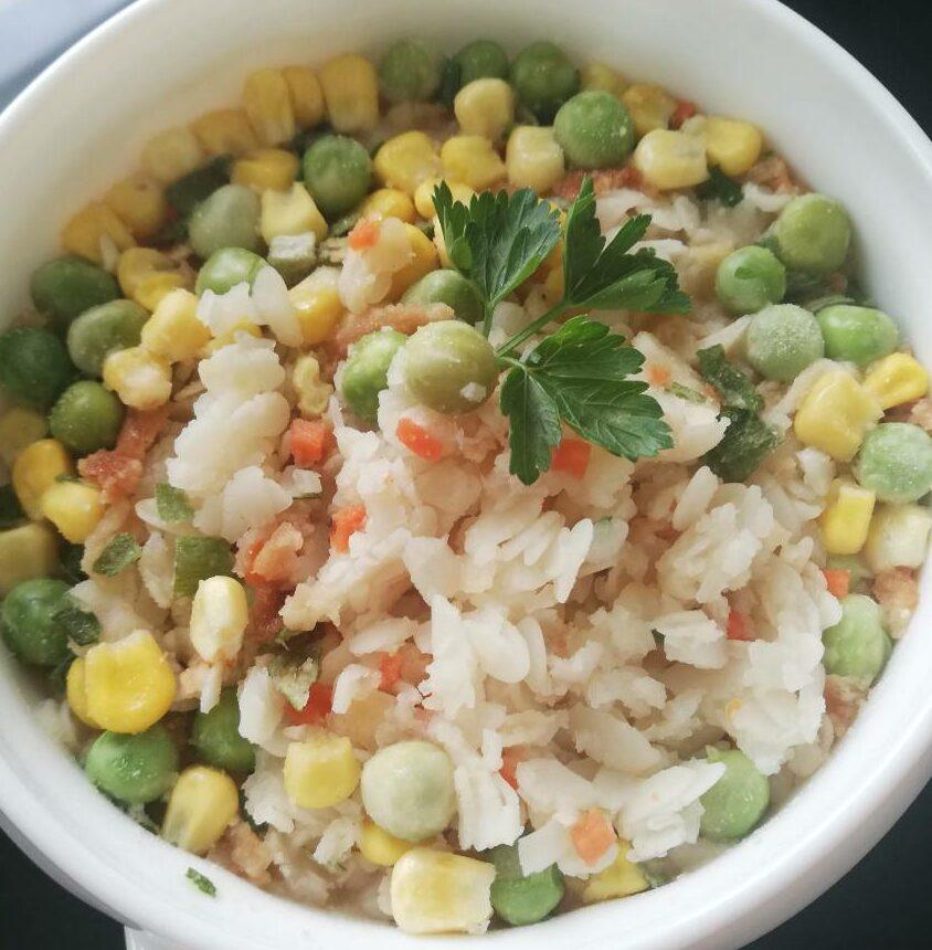 Каша Рисова з овочами